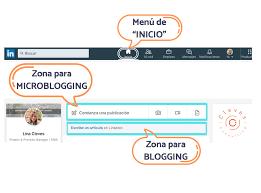 Tipos de publicaciones en LinkedIn