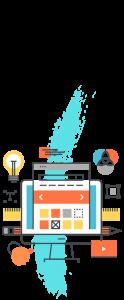 ilustración diseño web