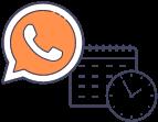 integración a WhatsApp y agenda online
